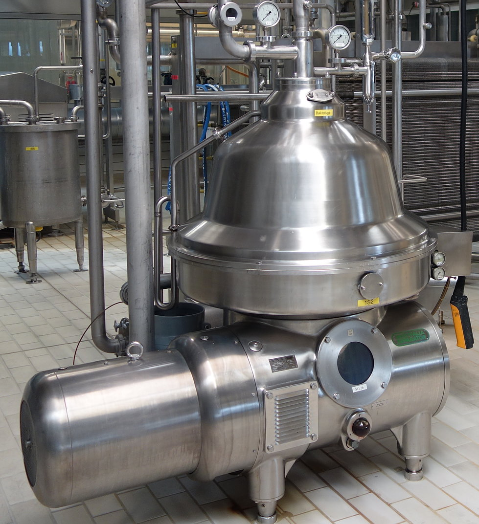 GEA Westfalia Cream Separator